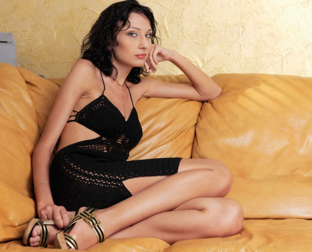 cheap London escorts - skinny gorgeous lady